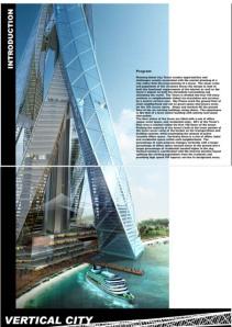 Dubai Vertikal City (2,4 km)