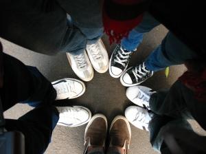 Sepatuku dan teman-temannya..