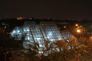 Lapangan Menteng dari atap Hotel F1