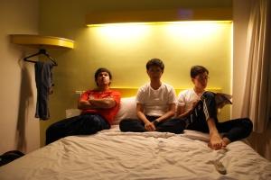 """Midle ages di sebuah hotel di kawasan Menteng (Kami tdk menemukan """"lukisan abstrak"""" pd dinding hotel ini)"""