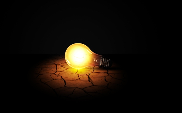 Creative_Wallpaper_incandescent_lamp_026371_